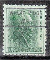USA Precancel Vorausentwertung Preo, Locals Colorado, Wheat Ridge 846 - Vereinigte Staaten