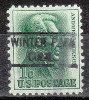 USA Precancel Vorausentwertung Preo, Locals Colorado, Winter Park 821 - Vereinigte Staaten