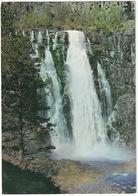 Skjervefoss. Ruten Voss - Granvin - Skjervefoss Waterfall. By The Voss-Granvin Road - (Norge - Norway) - Noorwegen