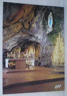 Lourdes Grotta Miracolosa Cartolina - Luoghi Santi