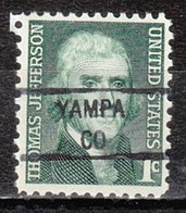 USA Precancel Vorausentwertung Preo, Locals Colorado, Yampa 841 - Vereinigte Staaten