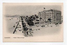 - CPA CANNES (06) - Hôtel Beaurivage - Edition Trüb 1570 - - Cannes