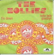 "45 Tours SP - THE HOLLIES  - POLYDOR 2058533  "" I'M DOWN "" + 1 - Autres - Musique Anglaise"