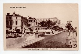 - CPA CANNES (06) - Hôtel Beau-Rivage - La Croisette - Photo Star - - Cannes