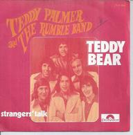 """45 Tours SP - TEDDY PALMER AND THE RUMBLE BAND  - POLYDOR 2121199  """" TEDDY BEAR """" + 1 - Autres - Musique Anglaise"""