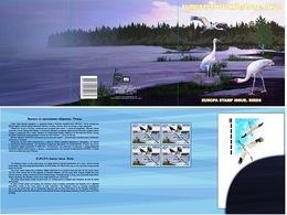 Russia 2019 Presentation Pack EUROPA CEPT Siberian Crane Bird Birds Grus Leucogeranus Grue Blanche Oiseaux Oiseau - 2019