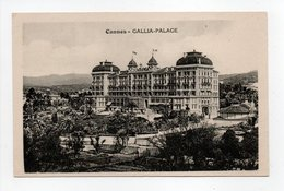 - CPA CANNES (06) - GALLIA-PALACE - - Cannes