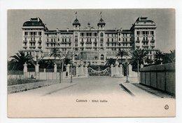 - CPA CANNES (06) - Hôtel Gallia - Edition Stocker-Michaud 160 - - Cannes