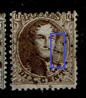 14  Obl  Griffe Blanche - 1863-1864 Medaillen (13/16)