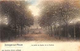 Jempeppe Sur Meuse - Le Jardin Du Casino De La Fanfare (colorisée) - Seraing