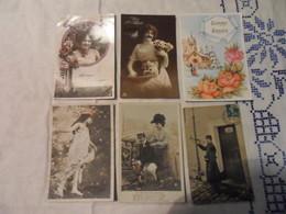 LOT 83 CPA FANTAISIE Tous Les Scans Disponibles - Cartes Postales