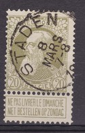 N° 75 STADEN  COBA +12.00 - 1905 Grosse Barbe