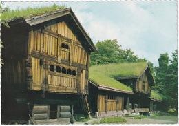 Norsk Folkemuseum, Oslo - Fra Setesdal - Old Farm-house From Setesdal - (Norge - Norway) - Noorwegen