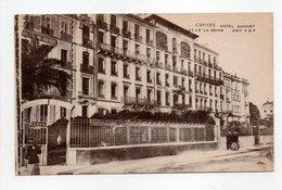 - CPA CANNES (06) - HOTEL GONNET ET DE LA REINE - Edition V. D. F. - - Cannes