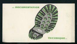 BUVARD:  VIBRAM - FORMAT  12X22 Cm - Chaussures