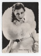 - CPSM SPECTACLE - IRENE DUNNE - Collection CHANTAL 478 - - Artistes