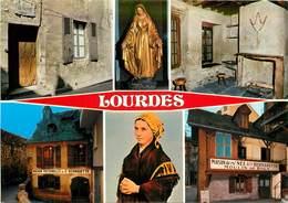 Lot De 10 CPSM LOURDES-Toutes Scannées-2      L2779 - Cartes Postales