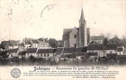 Jodoigne - Panorama Du Quartier St Médard (1912) - Geldenaken