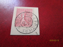 10c Semeuse Oblitération CONVOYEUR  PARIS BORDEAUX 12 Janvier 1904 Train 5 ? - Marcophily (detached Stamps)
