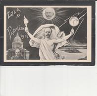 AFFAIRE DREYFUS -  ORENS - Zola Au Penthéon 1907  ( J'accuse!) - Satiriques