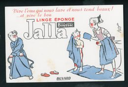 BUVARD:  LINGE EPONGE JALLA - FORMAT  13,5X20,5 Cm - Textile & Vestimentaire