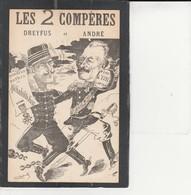 AFFAIRE DREYFUS -  ROBERTY - Les 2 Compères Dreyfus  Et  André - Satiriques