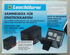 Leuchtturm ''sammelbox'' Met 90 Stock Cards (world/motief/motiv/thematics) - Timbres
