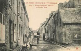 50 , MONTEBOURG , La Rue Des Juifs , * 417 47 - France
