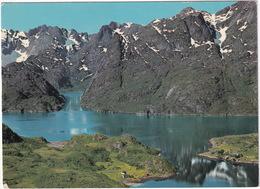 Parti Fra Trollfjorden Med Trolltindene Sett Fra Fly - Trollfjorden And Trolltindene Mountains - (Norge - Norway) - Noorwegen