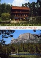 Gasthaus Volser Weiher - Formato Grande Viaggiata – E 10 - Hotels & Restaurants