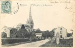 50 , CARENTAN , L'église , Prise Rue Du Bassin A Flot , * 418 20 - Carentan