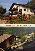 Kastelruth - Gasthaus St.oswald - Formato Grande Non Viaggiata – E 10 - Hotels & Restaurants
