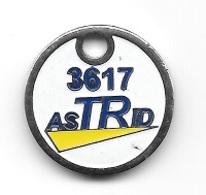 Jeton De Caddie  Automobile  3617  AsTRid  Verso  UN  SERVICE  DU  COMITE  NATIONAL  ROUTIER - Jetons De Caddies