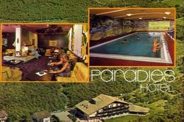 Latsch - Bei Meran - Paradies Hotel - Formato Grande Viaggiata Mancante Di Affrancatura – E 10 - Hotels & Restaurants