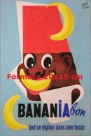 Reproduction D'une Photographie D'une Affiche Pour La Marque Banania Bon - Reproductions