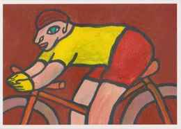 ERGON - Homme à Bicyclette - Vélo - Cyclisme - Illustrateurs - Illustrateur - Ergon