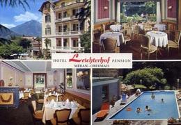 Meran - Obermais - Hotel Leichterhof - Formato Grande Non Viaggiata - E 10 - Hotels & Restaurants