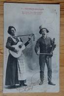 Chanteurs Des Cours - Sois Bonne ô Ma Chère Inconnue... - Animée - Musiciens Ambulants - (n°14316) - Métiers