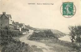 50 , CARTERET , Route Et Chalets De La Plage , * 418 99 - Carteret