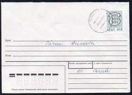 Estland 1992 MiNr. 192 Auf Brief Von PÄRNU - 6 - Estland