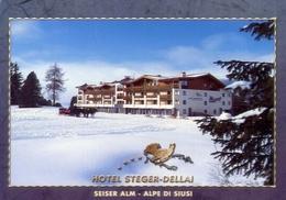 Seiser Alm - Alpèe Si Siusi - Hotel Steger Dellai - Formato Grande  Non Viaggiata – E 10 - Hotels & Restaurants