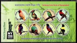 Bangladesh 2016 / Birds MNH Vögel Aves Oiseaux / Cu11610  C5 - Oiseaux