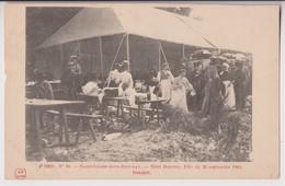 SAINT LEGER SOUS BEUVRAY (71) : MONT BEUVRAY - FETE DU 20 SEPTEMBRE 1903 - BANQUET -* 2 SCANS - - France