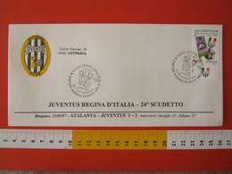 A.09 ITALIA ANNULLO FDC TORINO JUVENTUS CALCIO FOOTBALL VITTORIA CAMPIONATO - 1997 - BUSTA GATTINARA CLUB - Club Mitici