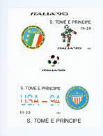 Sao Tome-1990-coupe Du Monde De Football-MI B194***MNH - Coupe Du Monde