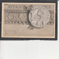 AFFAIRE DREYFUS - 29 Oct 1897 - 29 OCT 1898 - Evènements