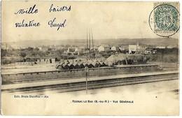 A2 BDR 13 ROGNAC Le Bas Le Quai De La Gare Précurseur 1904 TBE - Autres Communes