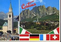 Cortina D'ampezzo - Formato Grande Viaggiata – E 10 - Trento