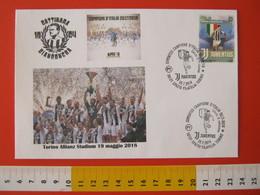 A.09 ITALIA ANNULLO FDC TORINO JUVENTUS CALCIO FOOTBALL VITTORIA CAMPIONATO - 2018 - BUSTA GATTINARA CLUB - Club Mitici