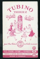 BUVARD:  FIL À COUDRE TUBINO THIRIEZ - FORMAT  13,5X21 Cm - Buvards, Protège-cahiers Illustrés